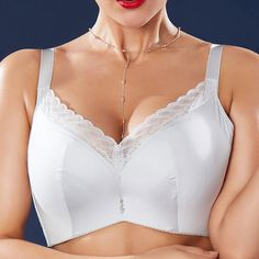 33d97a3150e0f Sexy J Cup Plus Size Push Up Lace-trim Side Support Bras - NewChic Mobile