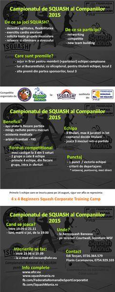 Play Squash, Romania, Cardio, Competition, Calendar, Life Planner, Cardio Workouts