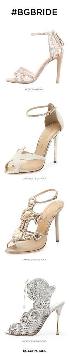 A few shoes for the #BGBride ...