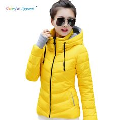 Colorful Apparel 2016 Winter Jacket Women Parka Winter Outerwear Plus Size Down Coat Short Slim Design Cotton-padded Jackets #>=#>=#>=#>=#> Click on the pin to check out discount price, color, size, shipping, etc. Save and like it!