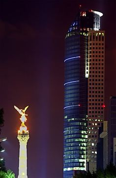 Paseo de la Reforma, Mexico City.