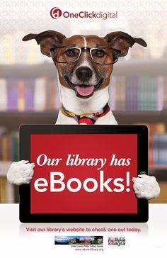 OneClick Digital Free eBook & Audiobook