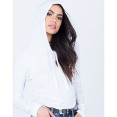 Soft Knit Hoodie ($17) ❤ liked on Polyvore featuring tops, hoodies, long sleeve hoodies, knit top, long sleeve hooded sweatshirt, knit hoodie and long sleeve tops