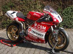 Ducati 916 Race track specs