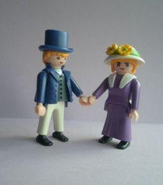 90 / 93 'The Couple' Playmobil Geobra set of by GirlyStuffByDeJaVu, $9.00