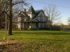 Reportedly the oldest home in Skidmore, Mo. Unfortunately it was sold and the new owners tore it down in Jan/2014 to build a new home. FOOLISH~