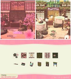 Animal Crossing Guide, Animal Crossing Qr Codes Clothes, Animal Crossing Pocket Camp, Island Theme, Motifs Animal, Japan Design, Island Design, Paths, Coding