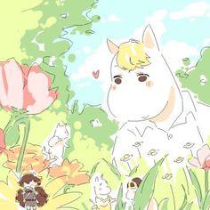 Karigurashi no Moomin by Kechuppika