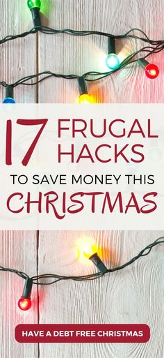 Frugal hacks to save money this Christmas | Budgeting tips | Savings tips | Frugal tips #budget
