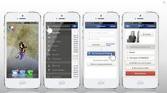 Application Se Coucher Moins Bête (SCMB) sur IOS : lancement et identification de l'application
