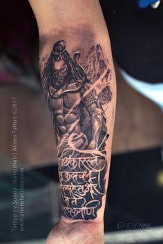Hand Hindu God Tattoo Designs For Men Hamsa Tattoo Design, Indian Tattoo Design, Hamsa Hand Tattoo, Buddha Tattoo Design, Shiva Tattoo Design, Armband Tattoo Design, Free Hand Tattoo, Bholenath Tattoo, Ganesh Tattoo