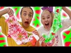 MAKING HOLIDAY SLIME WITH MIRANDA SINGS!! - YouTube