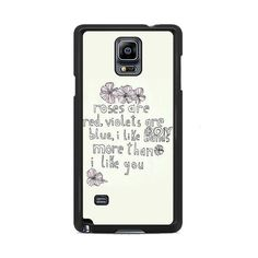 I Like Bands More Than I Like You Samsung Galaxy Note 3 | 4 Cover Cases