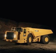 Cat AD45B Articulated Underground Truck