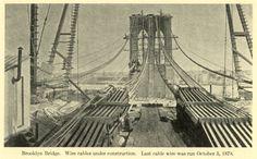 Antes de que existiese el primer rascacielos, las torres del Puente de Brooklyn se convirtieron en parte del horizonte neoyorquino a mediados de la...