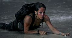 Watch Vikanders journey to becoming Lara Croft in this Tomb Raider featurette Tomb Raider Film, Tomb Raider Lara Croft, Lara Croft Angelina Jolie, Video Game Movies, Rise Of The Tomb, Cool Braids, The Villain, Dark Horse, Story Inspiration