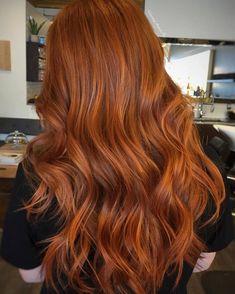20 CABELOS RUIVOS: cabelo longo ruivo Schwarzkopf Igora Royal Opulescence Nudes #cabeloruivo #cabelosruivos #ruivorosé #strawberryblonde #igora #schwarzkopf #flamingo