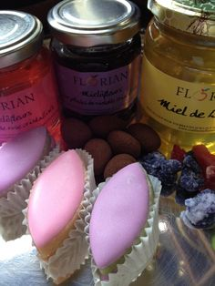 Jasmin and Violet flower jams, Lavender Honey, sugared flowers and classic provencal sweets