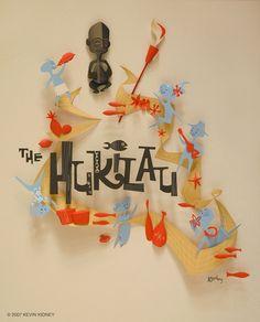 Flickr Photo Download: HUKILAU Paper Sculpture Poster - Kevin Kidney