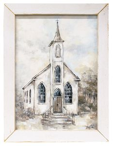 Shop for ArtWall Faith Gallery Wrapped Floater-framed Canvas. Get free delivery On EVERYTHING* Overstock - Your Online Art Gallery Store! Painting Frames, Painting On Wood, Diy Painting, Wall Art Prints, Framed Prints, Church Pictures, Fall Mantel Decorations, Canvas Frame, Online Art Gallery