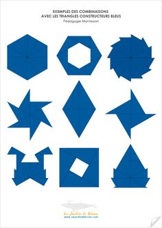 Examples of Montessori Blue Triangles The Effective Pictures We Offer You About Montessori Materials toddlers A quality picture can tell you many things. You can find the most beautiful pictures that Maria Montessori, Montessori Elementary, Montessori Preschool, Montessori Education, Homeschool Math, Le Triangle, Practical Life, Teaching Activities, Math Classroom