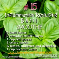 Healthy Smoothie for Inflammation