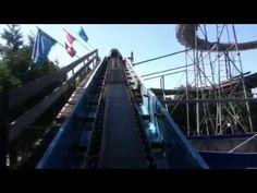 Flume (Log Ride) - POV Playland @ The PNE
