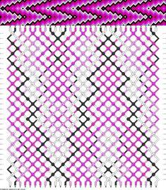 Muster # 44028, Streicher: 30 Zeilen: 30 Farben: 5