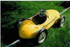 .Ferrari pedal car