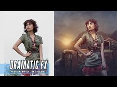 How To Make Dramatic Manipulation Scene Effects In Photoshop - rafy A