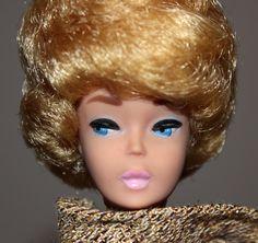 Vintage Blonde Bubble Cut Barbie