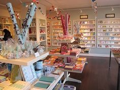 Best Stationery Stores in Seattle - Paper Delights in Wallingford. Such a delight to browse and look around the shop, and they're super nice.
