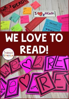 Are you getting looking for I Love to Read Month activities for your elementary library or classroom? This activity kit has everything you need for a fun and engaging reading celebration. You will love the I Love to Read Month ideas that are included. Grab it now and spread the love of reading in your school! #thetrappedlibrarian #ilovetoread Library Skills, Library Lessons, Elementary School Library, Elementary Schools, Reading Strategies, Reading Activities, Reading Motivation, Library Organization, Library Events