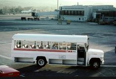 TWA Crew Bus - Trans World Airlines