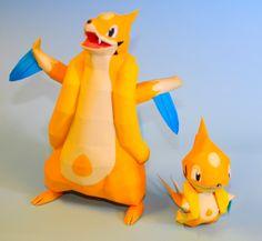 Easy Pokemon Papercraft | PaperPokés - Pokémon Papercrafts: FLOATZEL CHIBI