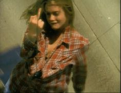 Aerosmith - Cryin'-- I sort of idolized the girl Alicia Silverstone played in this, and other videos such as ; Amazing, and Crazy. I dressed like her, wore my hair like her, I was rebellious, and angsty like her...