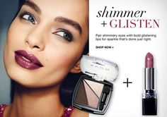 AVON GET THE LOOK -All about shimmer & glisten eyes. Visit www.youravon.com/my1724 to order these products! #AVON #TRUECOLOREYESHADOW #AVONQUADEYESHADOW #SHOPONLINE #SHOPAVONONLINE #AVONSALES #AVONEYESHADOW #EYEMAKEUP #SHOPONLINE #WOMEN #COLLEGESTUDENT #WEDDING #GIFTS #SHOPONLINE #MOMMYBLOG #BLOG