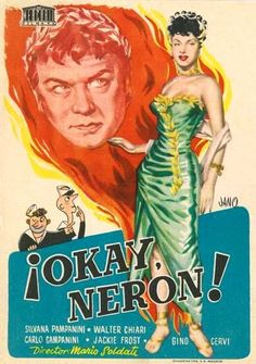¡Okay, Neron! (1951) tt0043870 PP Old Movies, Vintage Movies, Old Movie Posters, Art Music, Rock And Roll, Erotic, Film, House, Ideas