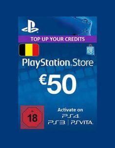 Playstation Network Card (PSN) 50 EUR (German)  EU Region: EU Platform: PSN  https://gamersconduit.com/product/playstation-network-card-psn-50-eur-german-psn-eu/