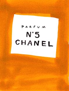 Chanel No.5, 2000, by Leanne Shapton, from leanneshapton.com