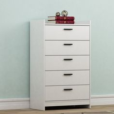 Homestar Central Park 5 Drawer Chest | from hayneedle.com
