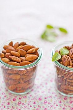 almonds and pecans