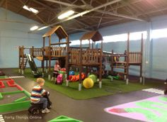 indoor kids shack jungle gym. Unlimited coffee for R10 for parents! (Southern Subs @s_lunn