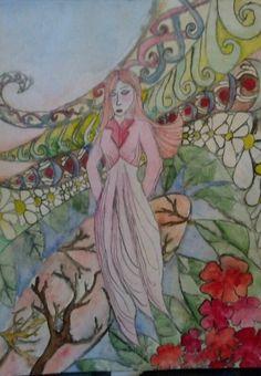 Watercolor- fairy