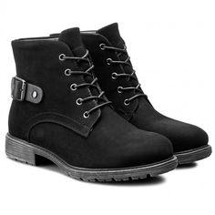 Polokozačky CLARA BARSON - W16AW437-1 Černá Timberland Boots, Shoes, Fashion, Timberland Boots Outfit, Moda, Zapatos, Shoes Outlet, Fasion, Shoe