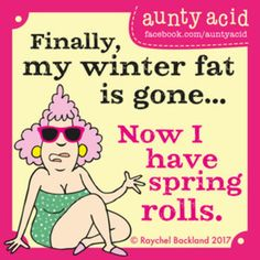 Ged Backland's random and witty thoughts on everyday life as told by Aunty Acid and her husband Walt in this Web comic Aunty Acid, Funny Cartoons, Funny Jokes, Hilarious, Funny Minion, Funny Facts, Senior Humor, Twisted Humor, Adult Humor