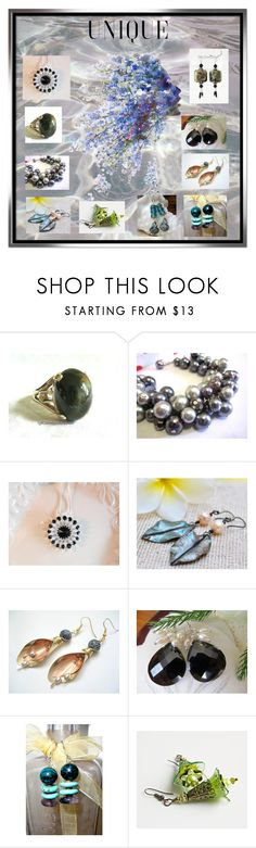 """""""Unique"""" by glassdreamshawaii ❤ liked on Polyvore featuring Lazuli and vintage"""