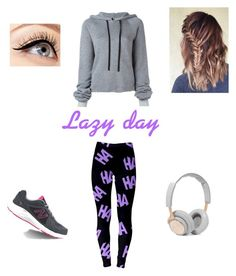 """Lazy day"" by geekielover on Polyvore featuring Unravel, New Balance, B&O Play and Luminess Air"