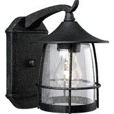 Found it at Wayfair - Prairie Wire Frame 1 Light Outdoor Wall Lantern