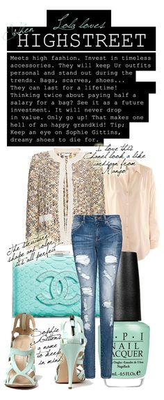 Bouclé jacket and skinny jeans Boucle Jacket 9179169d9ae5b